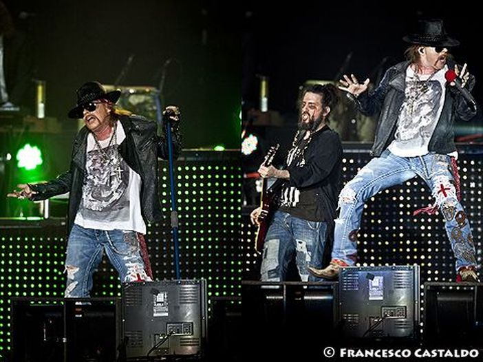 Guns N' Roses: salutano la città sbagliata e vengono fischiati - VIDEO
