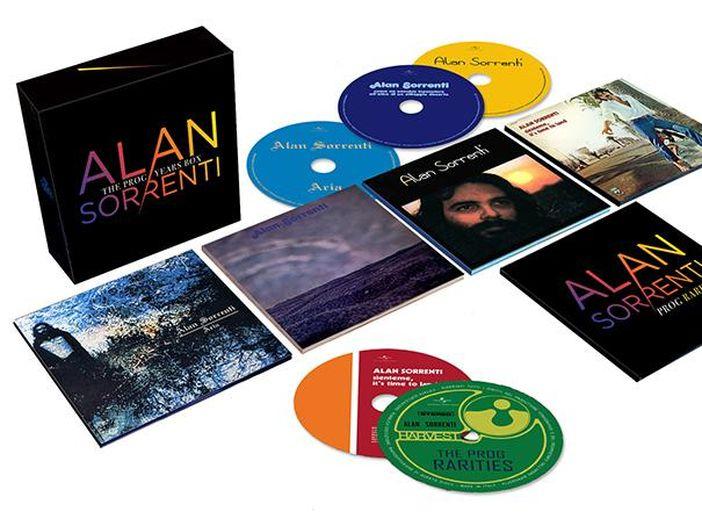Alan Sorrenti: per il quarantesimo anniversario torna nei negozi in edizione speciale 'Figli delle stelle'