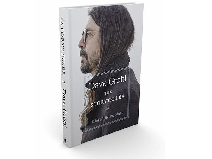 Dave Grohl, esce a ottobre il libro 'The Storyteller: Tales of Life and Music'