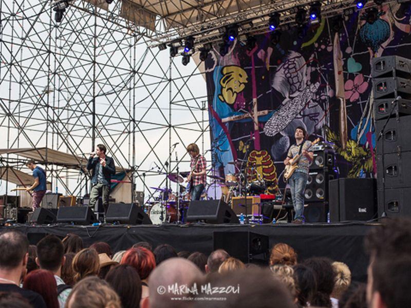 16 luglio 2014 - Goa Boa Festival - Arena del Mare - Genova - Rainband in concerto