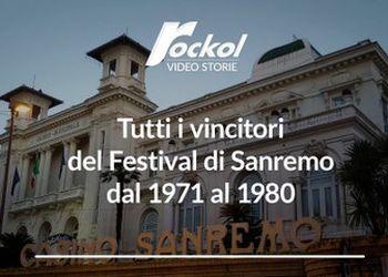 Tutti i vincitori del Festival di Sanremo dal 1971 al 1980
