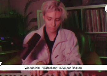 """""""Barcellona"""" (live per Rockol)"""