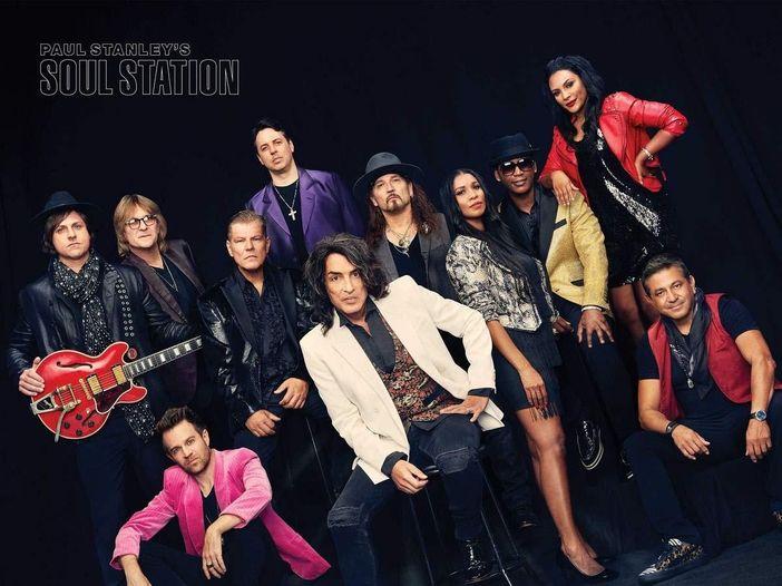 Paul Stanley (Kiss) vuole pubblicare, col progetto Soul Station, un cd live - GUARDA I VIDEO DAL VIVO