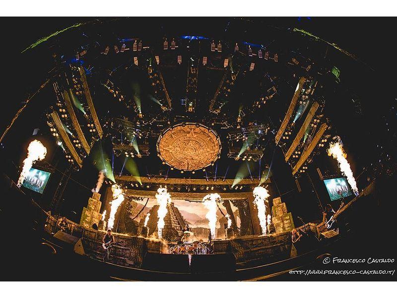 22 luglio 2016 - MediolanumForum - Assago (Mi) - Iron Maiden in concerto