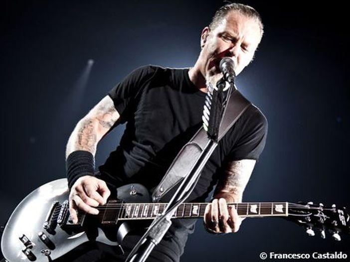 Metallica: il 9 agosto esce il film 3D 'Metallica through the never'