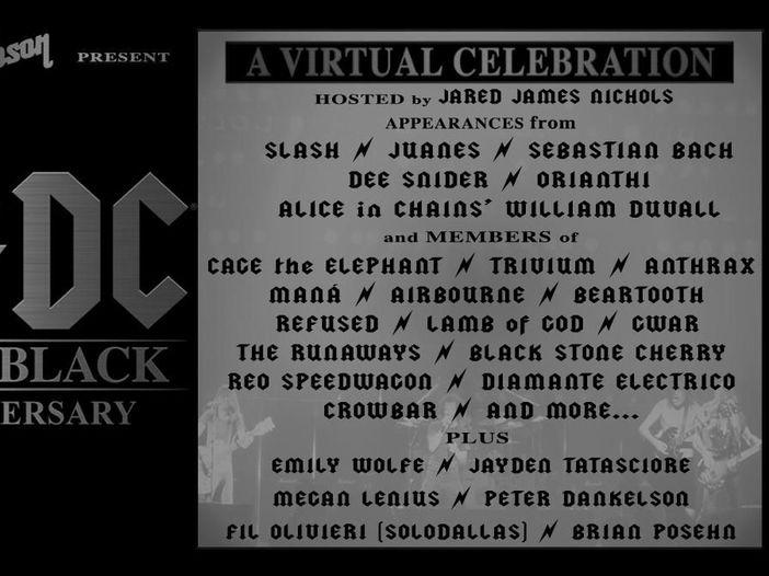 "AC/DC, i 40 anni di ""Back in black"": domani una celebrazione in grande stile..."