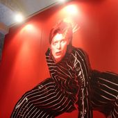 """8 giugno 2017 - Castello Svevo - Bari - Inaugurazione mostra """"David Bowie & Masayoshi Sukita: Heroes - 40° anniversario"""""""
