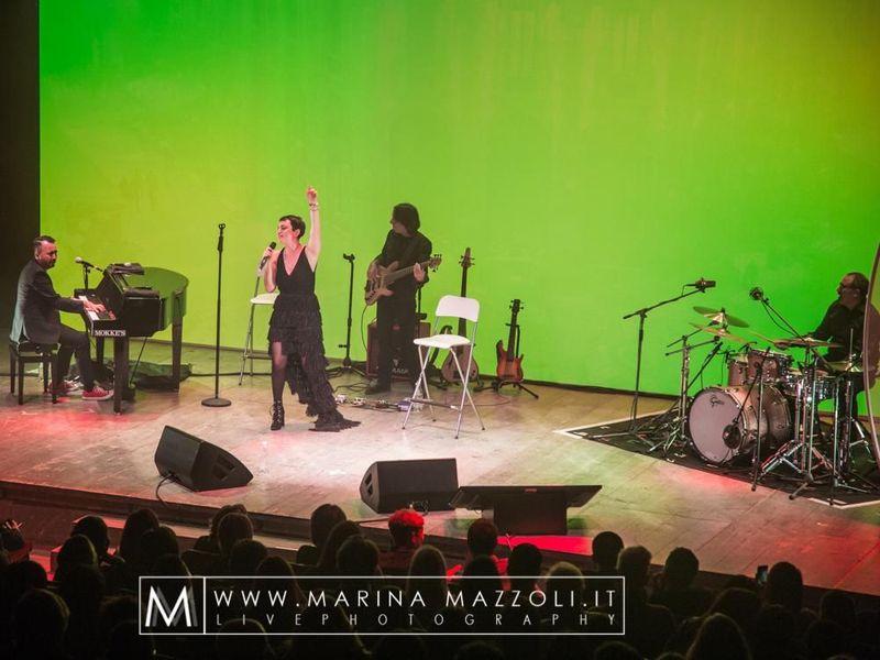 9 ottobre 2016 - Teatro Franco Parenti - Milano - Arisa in concerto