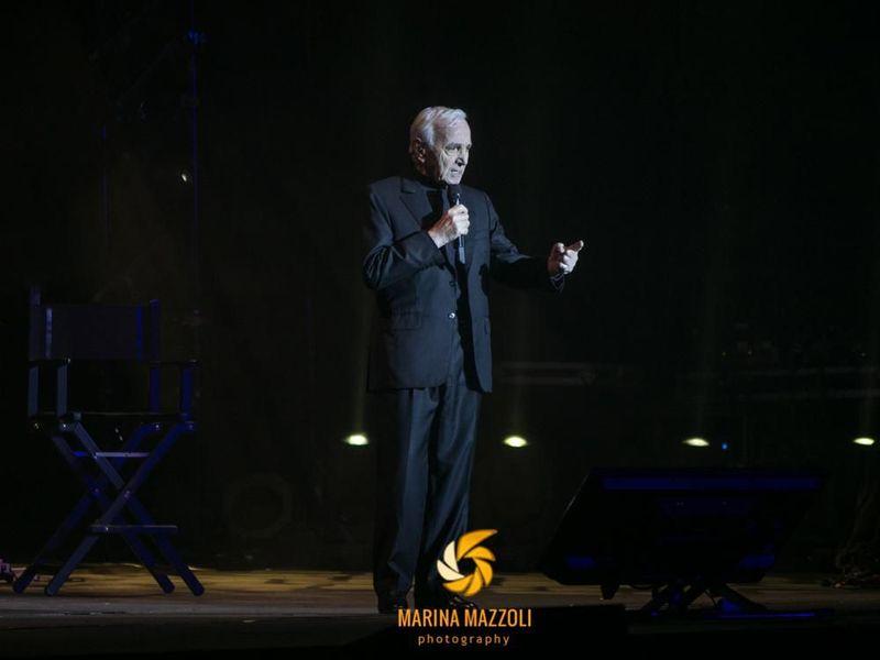 13 novembre 2017 - Teatro degli Arcimboldi - Milano - Charles Aznavour in concerto