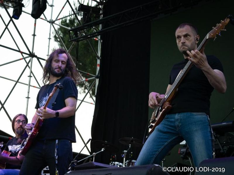 23 giugno 2019 - Rock in Roma - Ippodromo delle Capannelle - Roma - Nosound in concerto