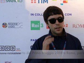 Gazzelle - Concerto del Primo Maggio 2018 a Roma, Gazzelle: la videointervista