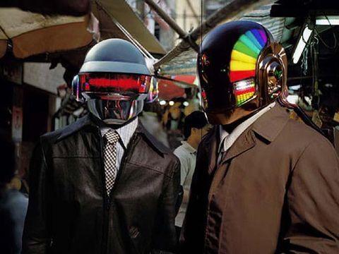 Daft Punk and Marilyn Manson for Kanye West's 'Black Skinhead'