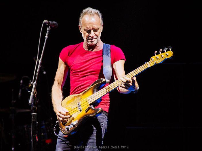 Sting, in collegamento dall'Italia, annuncia un nuovo album di duetti: video